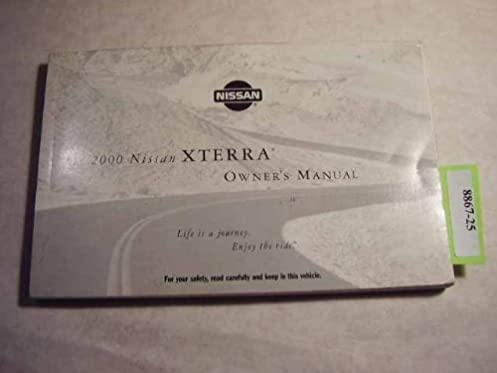 2000 nissan xterra owners manual nissan amazon com books rh amazon com 2015 Nissan Xterra 2000 nissan xterra service manual