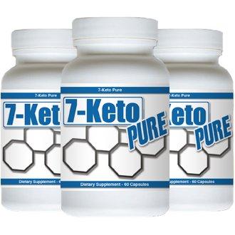 7-Keto Pure - 7-Keto DHEA - 180 Capsules