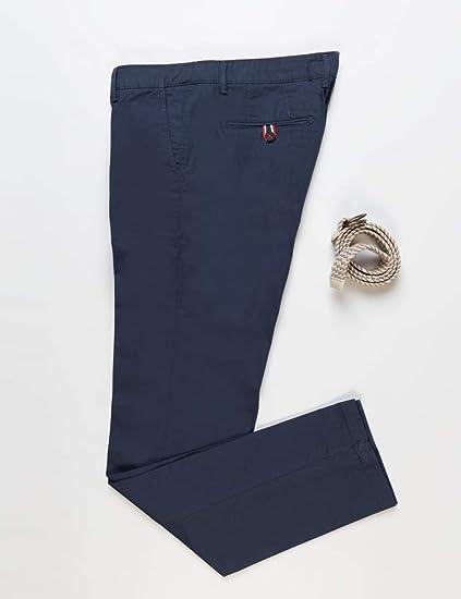 El Ganso 1020S190040 Pantalones, Azul marino, 42 para Hombre ...