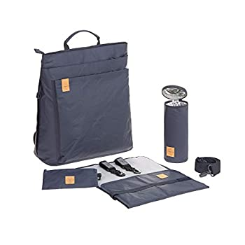 Image of Lassig Tyve Backpack, Navy Baby