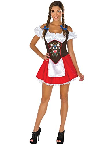 Sexy Oktoberfest Costumes (Rubie's Costume Co. Women's Beer Garden Babe Costume, As Shown, Small)