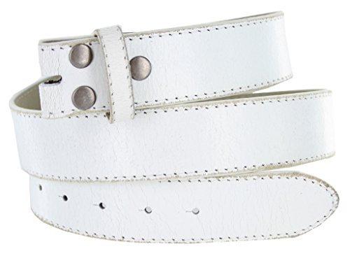 Classic Vintage Distressed Casual Jean Leather Belt Strap (S(30