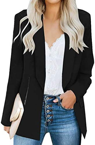 UNibelle Women Casual Blazer Work Office Business Jacket Long Sleeve Suit Jacket