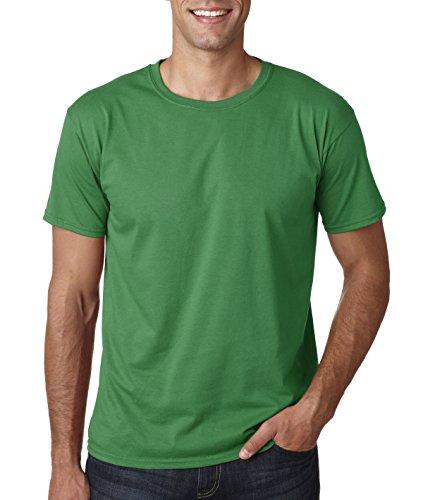 Gildan Men's Softstyle Ringspun T-shirt - Medium - Irish Green