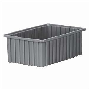 grid dividable box set of 8 color gray home improvement. Black Bedroom Furniture Sets. Home Design Ideas