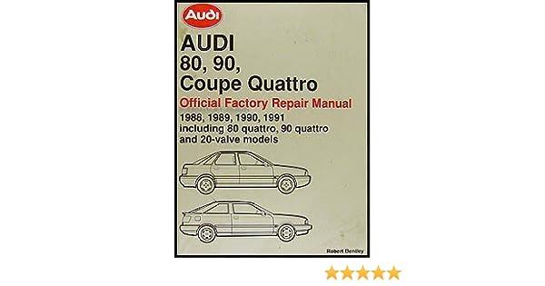 1990 audi 90 repair manual
