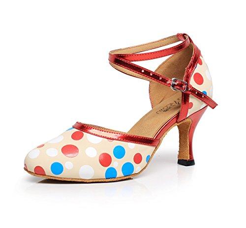 Honeystore - Zapatillas de danza para mujer Dance7120a