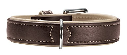 Hunter HT61148 Canadian Elk Leather Collar, One Size