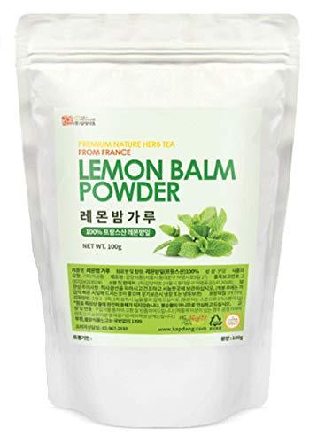 Lemon Balm Powder (Origin France) Natural 100% Health Diet Tea Vitamin C Insomnia Digestion Reduces Anxiety 1 Pack 100g