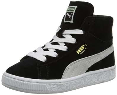 Amazon.com | PUMA Suede Classic Mid Sneaker (Little Kid