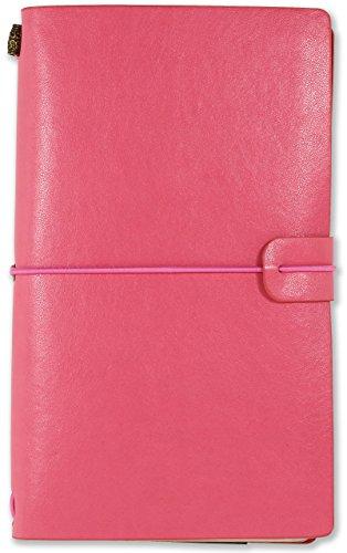 Voyager Refillable Journal - Pink (Traveler