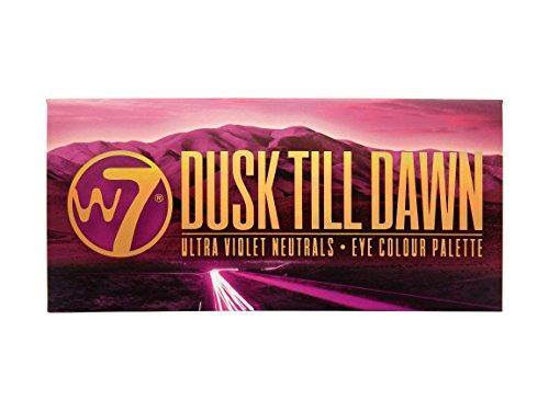 W7 Dusk Till Dawn Ultra Violet Neutrals 14 Colour Eye Shadow