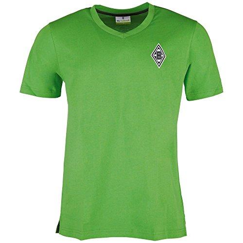 Kappa BMG Borussia Mönchengladbach T-Shirt 2016 2017 Herren kurzarm grün Größe M