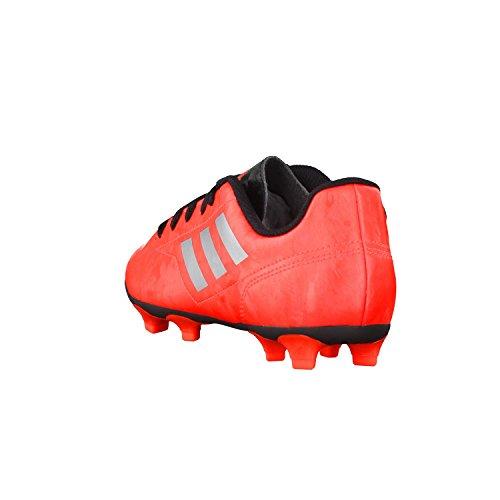 adidas - Botas de fútbol de Piel para niño ARANCIONE FLUO