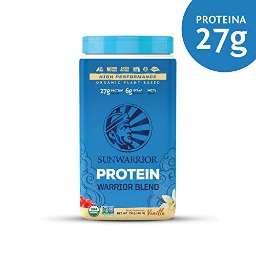 Warrior Blend - Vanilla, 0.6 Pound (Sunwarrior Classic Plus Organic Raw Plant Based Protein)