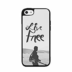 Guitarist Live Free TPU RUBBER SILICONE Phone Case Back Cover iPhone 5c by icecream design
