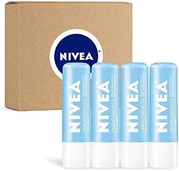 4-Pack Nivea Smoothness Lip Care