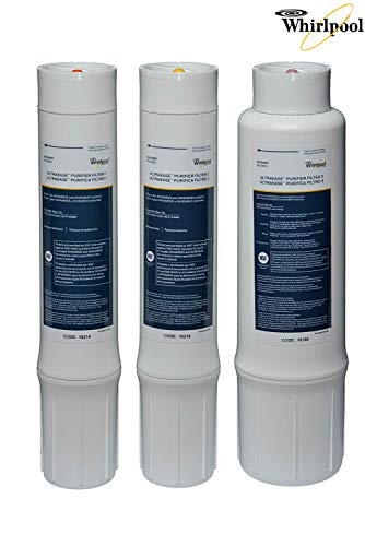 Whirlpool WHEMBF Purifier (Fits Systems WHAMBS5 & WHEMB40) Replacement Water Filter Set, Single Unit