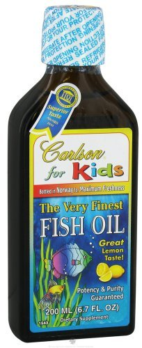 Carlson For Kids Très Finest Fish Oil citron, 200ml