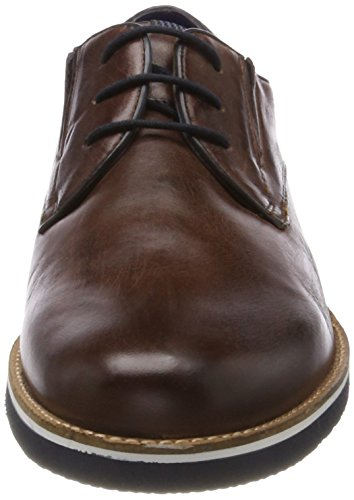 6000 Brown Marrone Uomo 312416013500 Derby Scarpe Stringate bugatti a0ZOn
