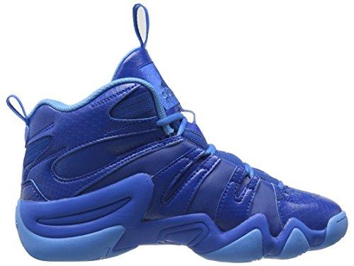 Adidas Performance loco 8 zapatillas de baloncesto, claro Onix, 6,5 M con nosotros Blue/Collegiate Royal/Ray Blue Fabric