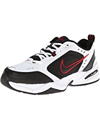 Air Monarch IV Training Shoe (4E) - White/Black/Varsity Red, Size 11 US