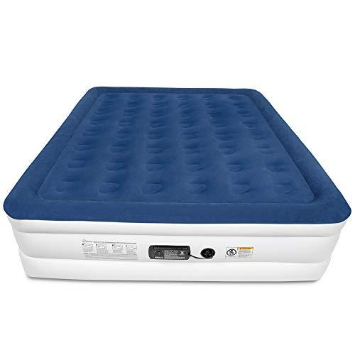 (SoundAsleep Dream Series Air Mattress with ComfortCoil Technology & Internal High Capacity Pump - King Size)