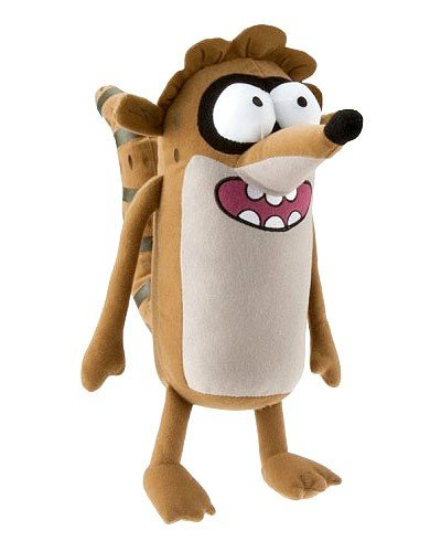 Image Unavailable. Image not available for. Color  Cartoon Network Regular  Show Rigby 12 quot  Plush (Toy ... 04a1ebf95