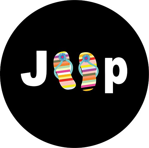 Jeep-Flip-Flops-Spare-Tire-Cover-for-Jeep-RV-Camper-VW-Trailer-etcSelect-popular-sizes-from-drop-down-menu-or-contact-us-ALL-SIZES-AVAILABLE