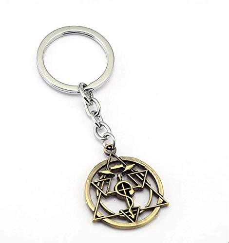 DoubleChin Full Metal Alchemist Keychain - Homunculus Circle - Metal Alchemist Full Keychain