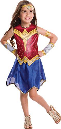 - 41zItAYbjeL - Rubie's Costume Girls Justice League Wonder Costume
