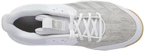 Shoe Ligra White Grey Metallic Silver adidas Originals Volleyball Women's 6 wXxXpBqf