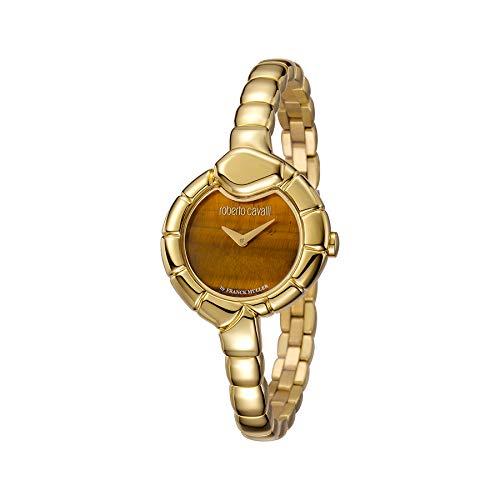 afb6fca2fae2 Reloj Mujer Roberto Cavalli by Franck Muller rv1l010 m0041 Acero Gold  Dorado  Amazon.es  Relojes