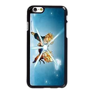 Funda iPhone 6 6S caso del teléfono celular de 4.7 pulgadas Funda Negro Dragon Ball Z H8Z1BU