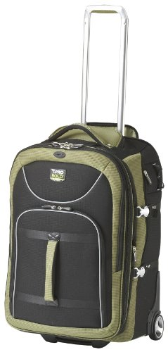Travelpro Luggage T-Pro Bold 25 Inch Expandable Rollaboard Bag, Black/Green, One Size by Travelpro