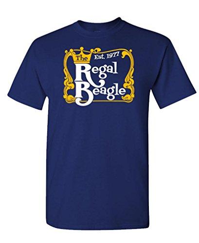 REGAL BEAGLE - tv 70s 80s retro sitcom - Mens Cotton T-Shirt, 2XL, (70s And 80s Clothes Fashion)
