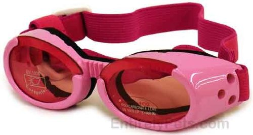 Doggles ILS Pink Dog Glasses Large, My Pet Supplies
