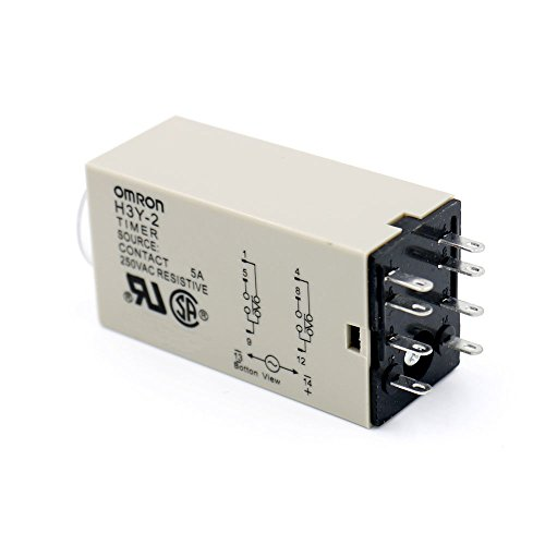 Baomain DC 12V H3Y-2 Time Delay Relay Solid State Timer 30 S DPDT w Socket