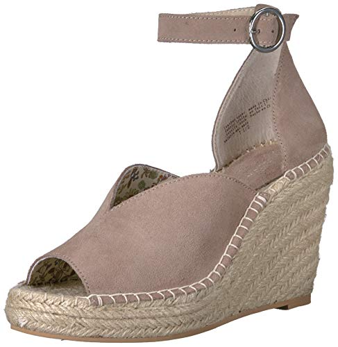 (Seychelles Women's Collectibles Espadrille Wedge Sandal, Taupe, 10 M US)