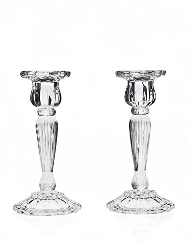 (Godinger 2-pc. Triumph Crystal Candlestick Set)