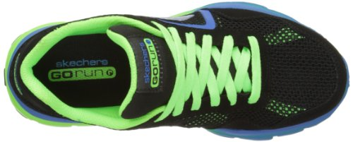 Skechers GOrun Ride Supreme - Zapatillas de material sintético para niño Bkgr