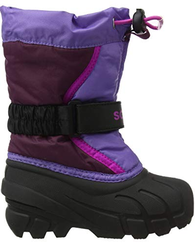 562 Fille Paisley Neige Eu Purple Violet Sorel Childrens Flurry De Dahlia 31 Bottes wXCT6q