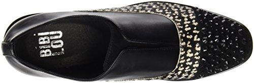 BIBI LOU 633Z96VK, Zapatos, Mujer Multicolor (Bic. Negro)