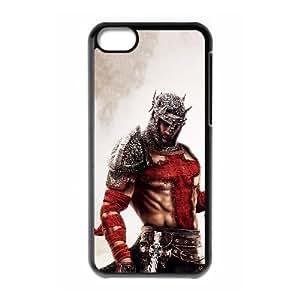 Dantes Inferno 7561 Caso del Funda iPhone 5C Funda caja del teléfono celular Negro M9N4JDFK aluminio del teléfono celular