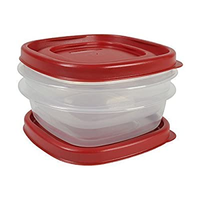 Rubbermaid Easy Find Lid Food Storage Set,1-1/4 Cup (4-Pack of 2) Size: 1-1/4 Cup (4-Pack of 2) Style: 4 Piece set, Model: , Hardware Store