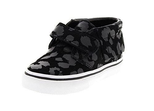 VANS Kids - T CHUKKA V MOC - leopard suede black Leopard Suede Black