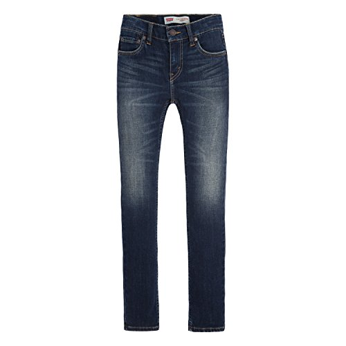 Levi's Boys' Extreme Skinny Fit Jeans, Murky Waters, 7