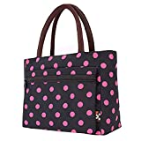 Lunch Bag Large Size Tote Bag Traveling Camping Working Lunch Bag for Women/Men,O