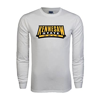 the latest 2efc5 59b12 Amazon.com : Kennesaw White Long Sleeve T Shirt 'Kennesaw ...