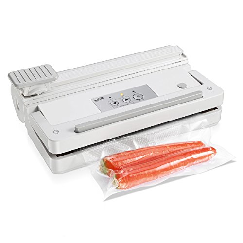Housmile Vacuum Sealer, Automatic Food Sealer Vacuum Packing Machine with Vacuum Bags for Food Saver